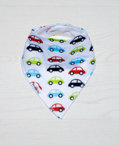 Retro Cars Bandana Bib