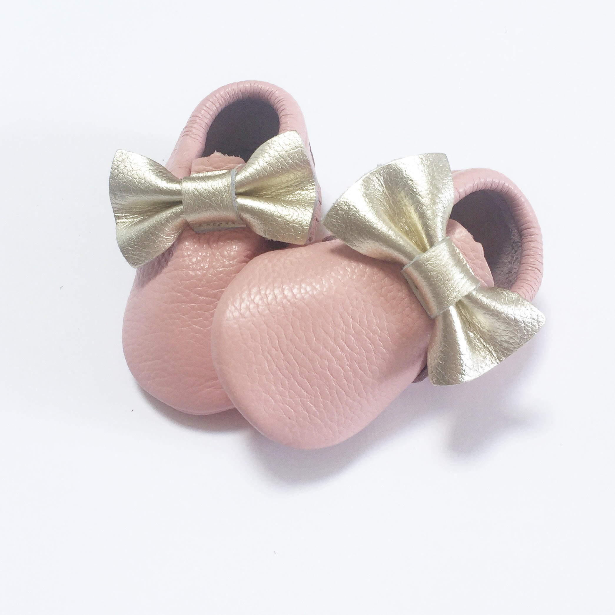 Baby Pink Moccasins