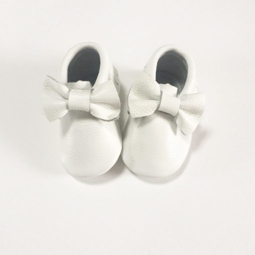White Bow Moccasins