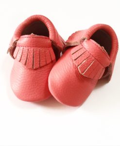 Coral Pink Moccasins