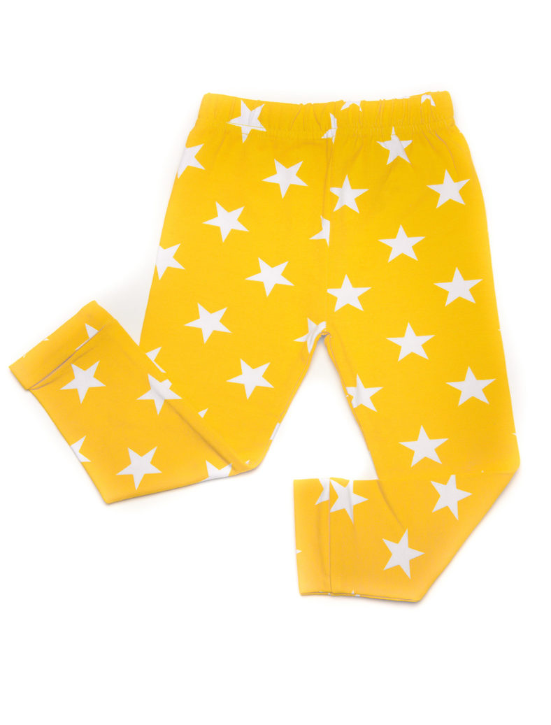 Yellow Star Leggings