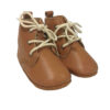 Tan Leather Baby Boots