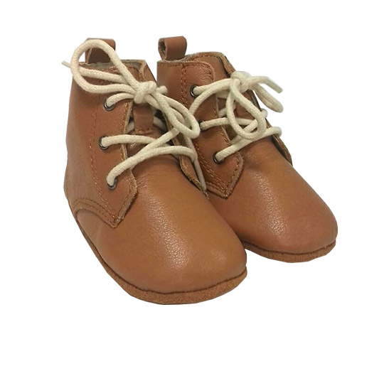 da8d08bfe62b0 Cute Tan Leather Baby Boots